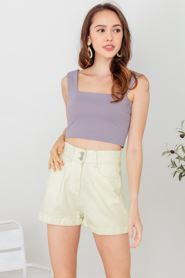 Fisa Top Dusty Lilac
