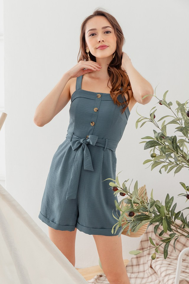 Jobena Playsuit Emerald