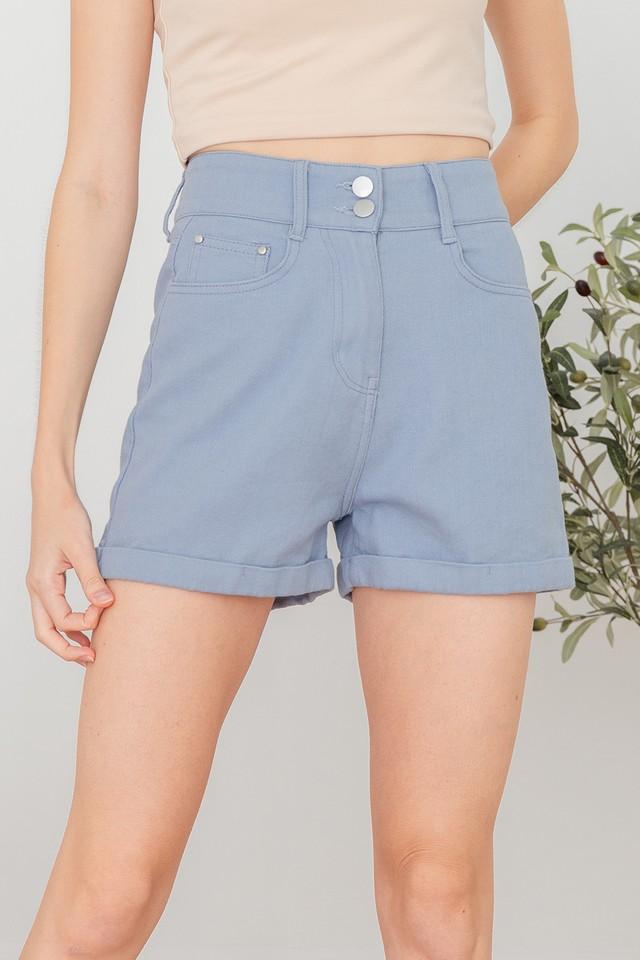 Ashlee Shorts Cornflower Blue