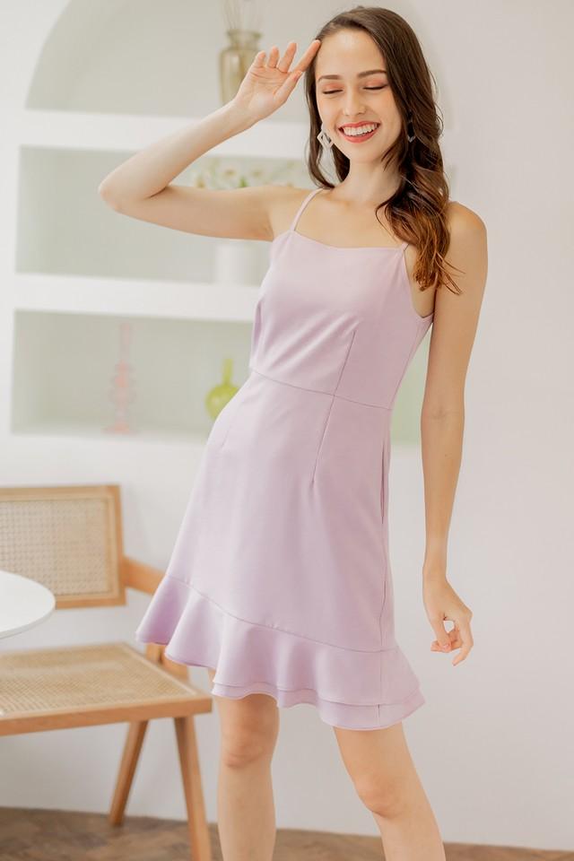 Leia Dress Pink Lilac
