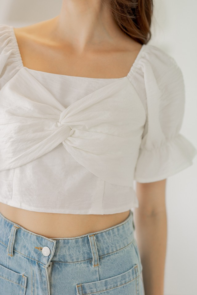 Mandy Top White