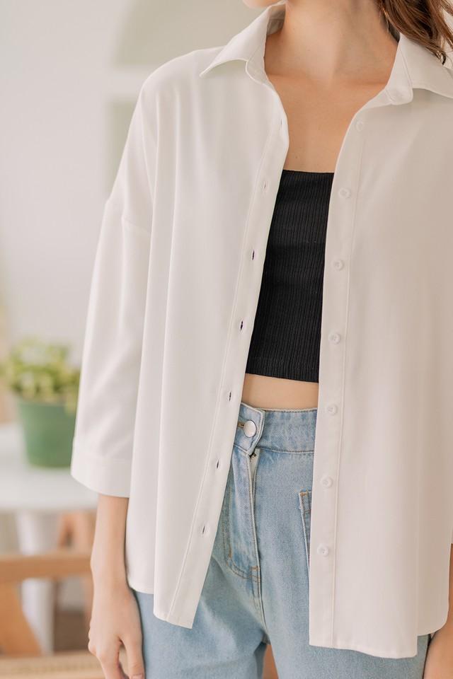 Preston Shirt White