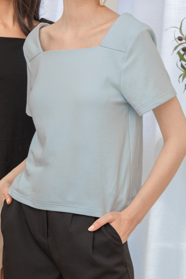 Spencer Top Pastel Blue