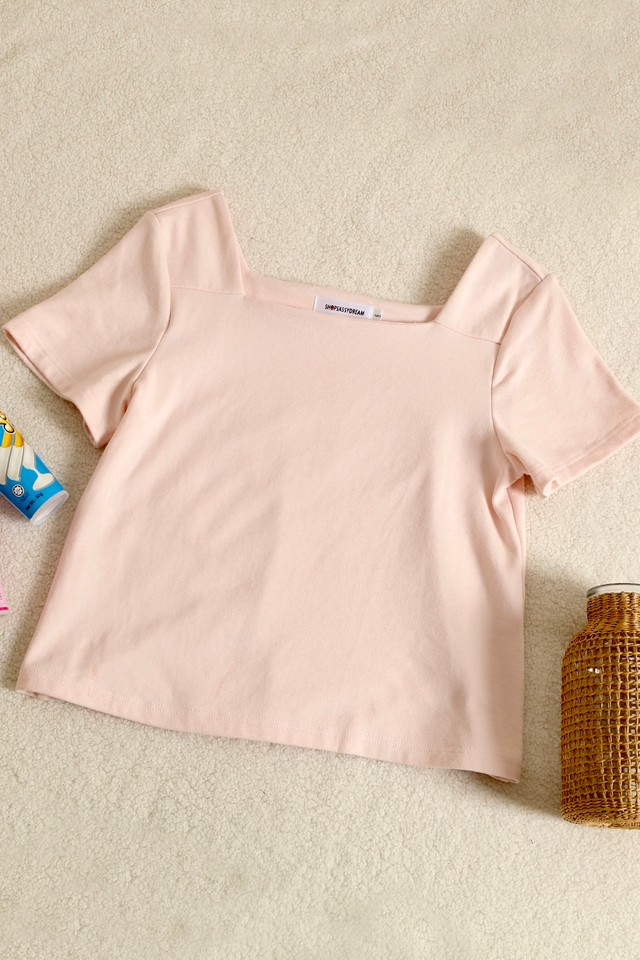 Spencer Top Baby Pink