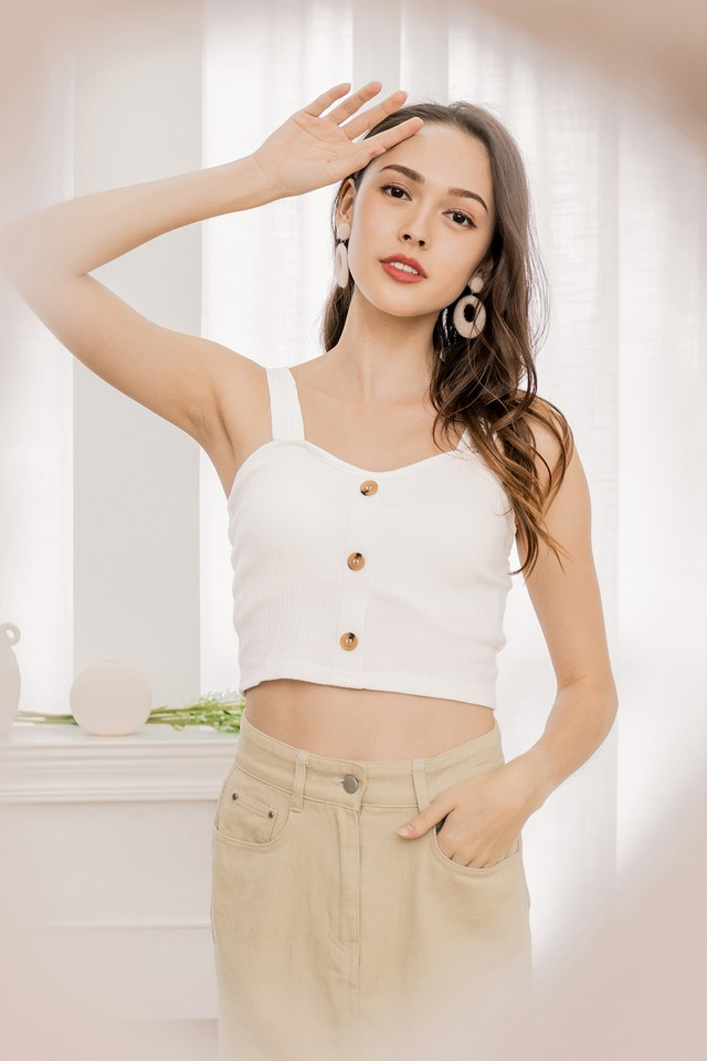 Jamison Bra Top White