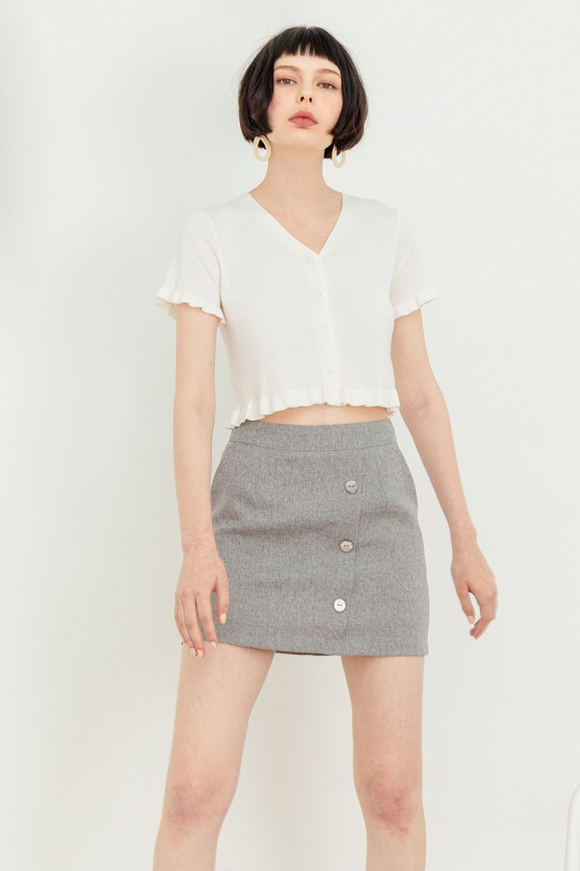 Stella Tweed Skorts Grey