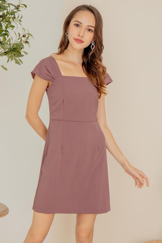 Rochelle Dress Mauve