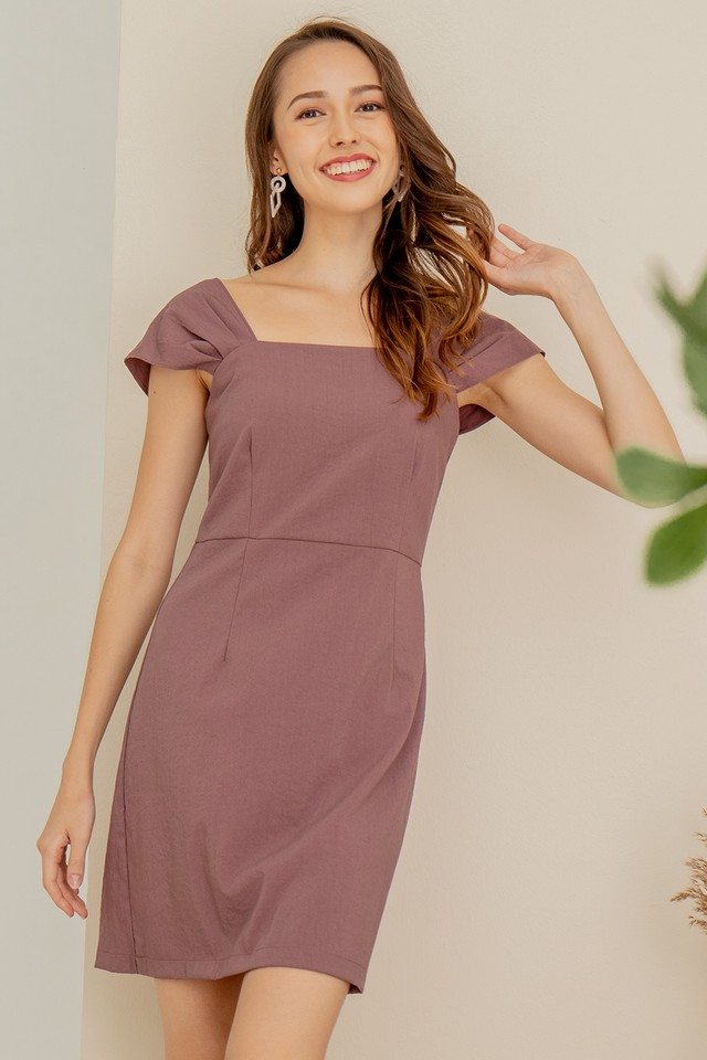Rochelle Dress Mauve