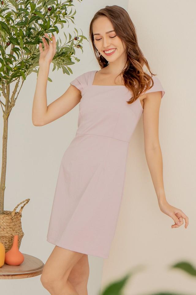 Rochelle Dress Sweet Pink