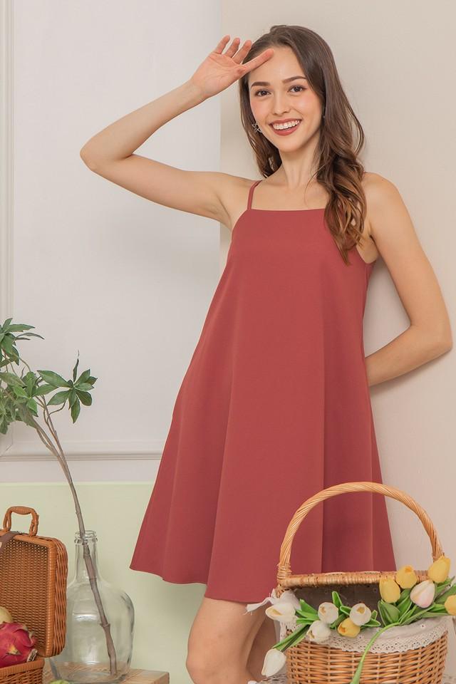 Daisee Dress Raspberry