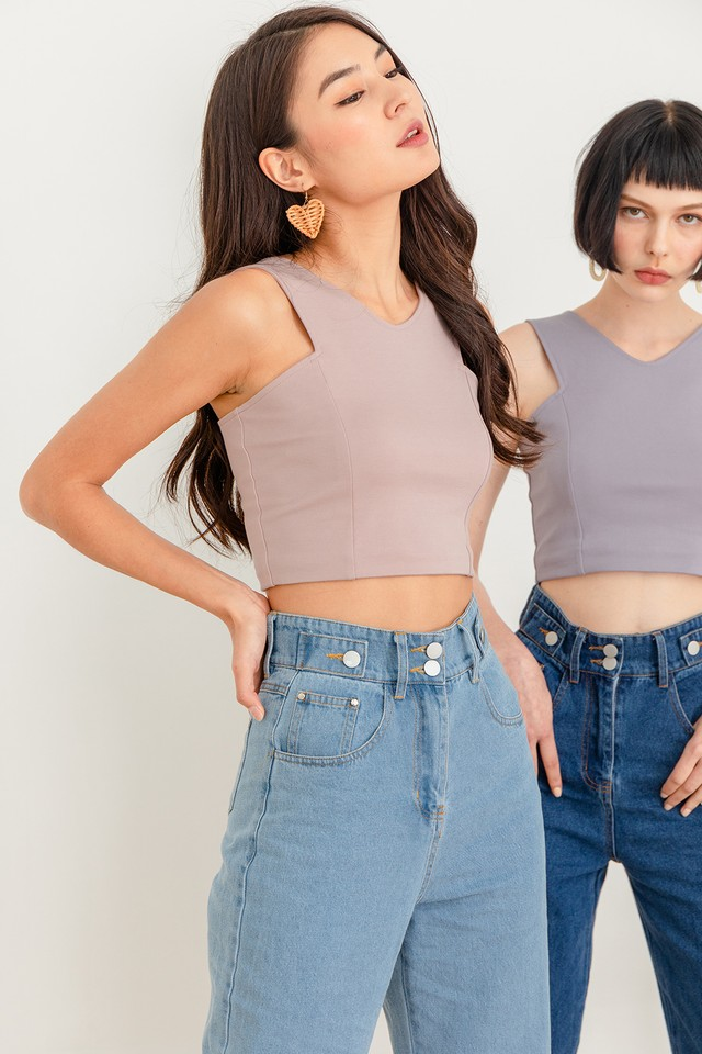 Drea Top Dusty Pink