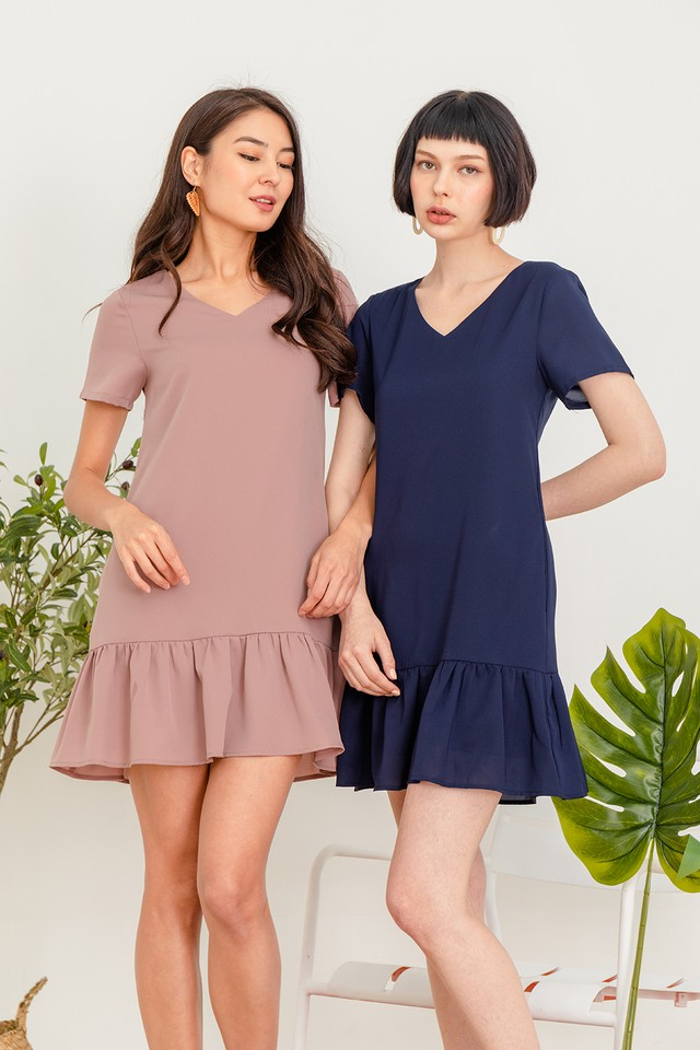 Aimma Dress Navy