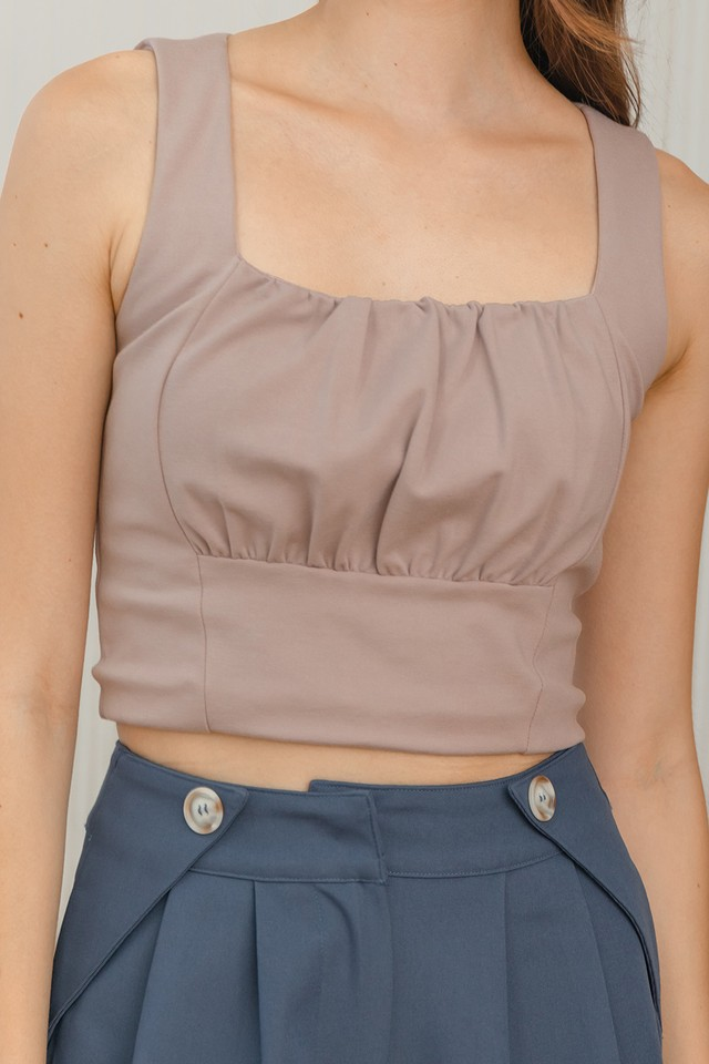 Aleah Top Dusty Pink