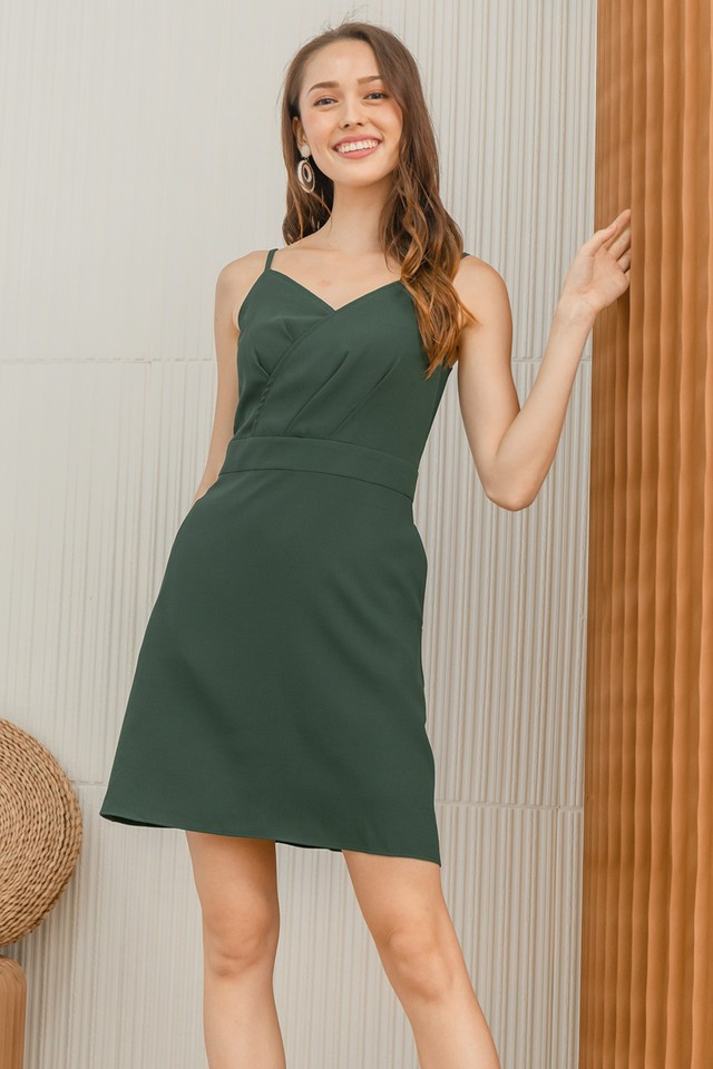 Brendan Dress Dark Green