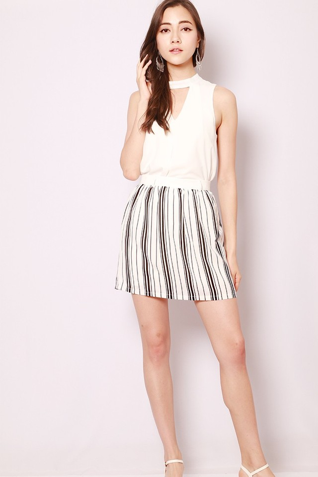 SSD Emerson Skirt White